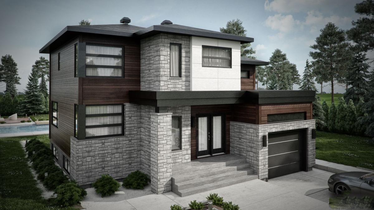 Style De Maison Contemporaine Maison Moderne