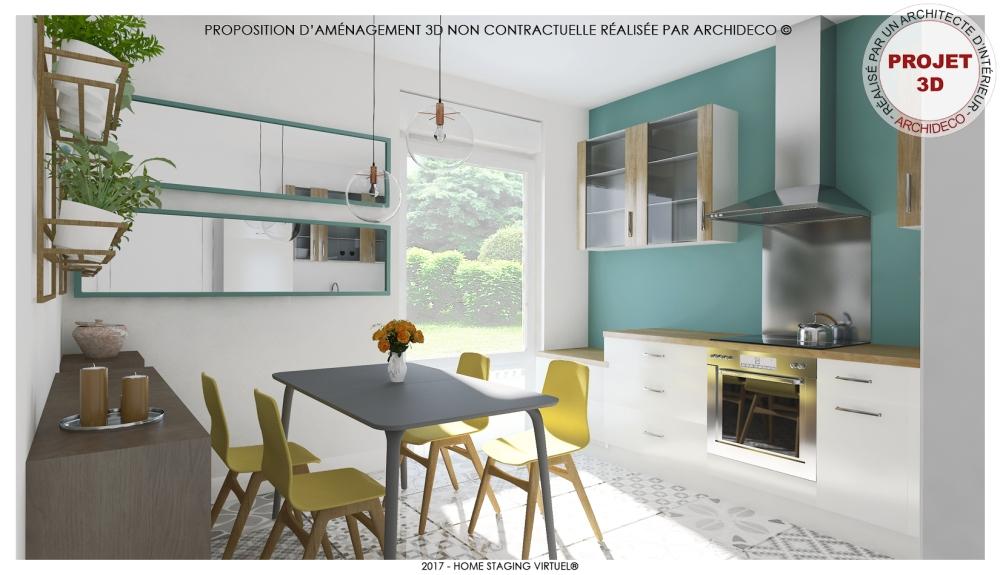 Visuel 1 - Osez la couleur turquoise chez vous !