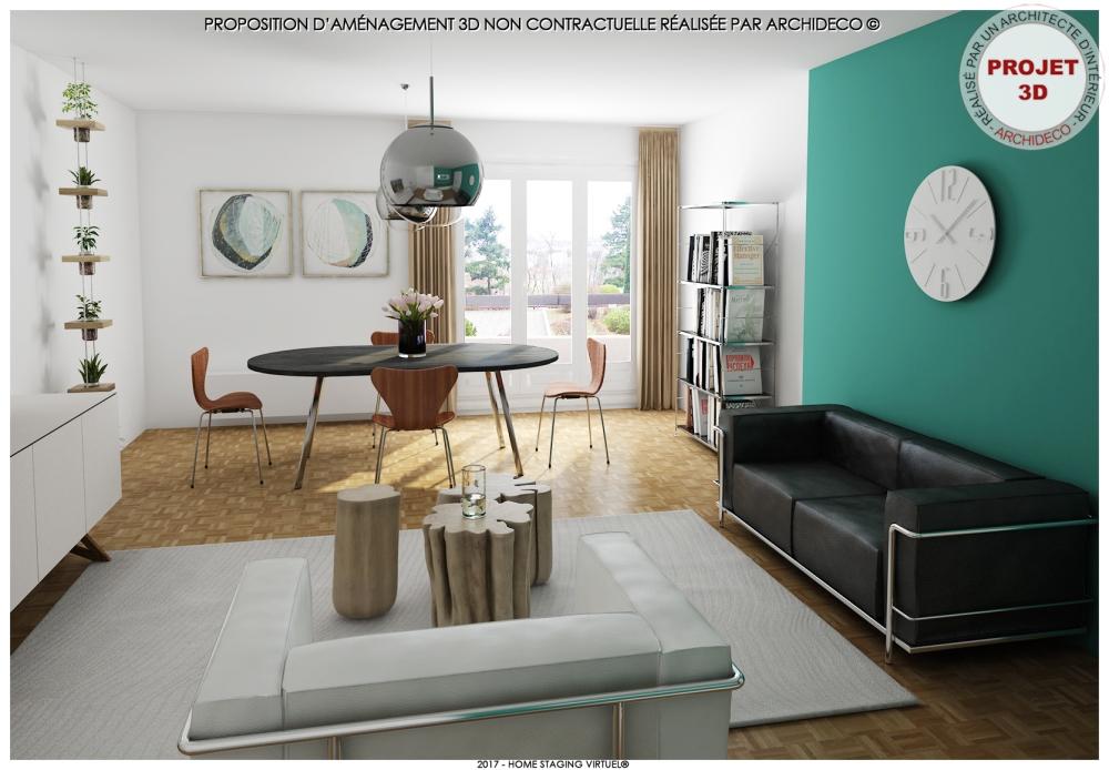 Visuel 3 - Osez la couleur turquoise chez vous !