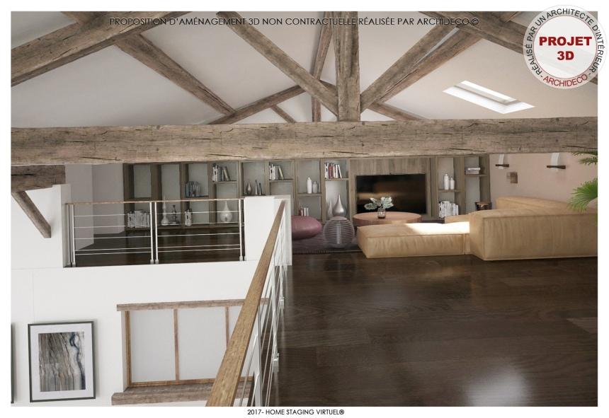 La mezzanine loft - Visuel 2