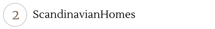 2- Scandinavian Homes