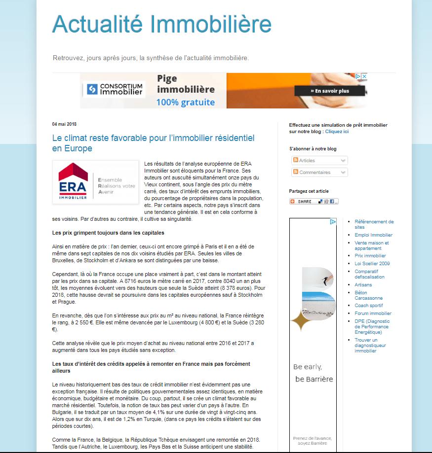 Image 6 - Actualité immobilière